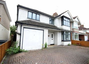 Thumbnail 4 bedroom semi-detached house for sale in Shrivenham Road, Swindon Town Centre, Wiltshire