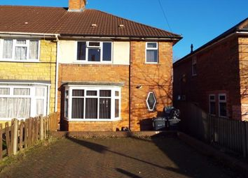 Thumbnail 3 bedroom end terrace house for sale in Finchley Road, Birmingham, West Midlands