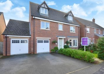 Thumbnail 5 bed detached house for sale in Four Seasons Close, Dunholme, Lincoln