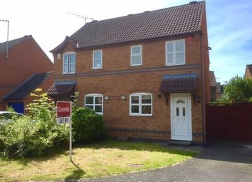 Thumbnail 2 bed semi-detached house to rent in Scalborough Close, Countesthorpe, Leicester