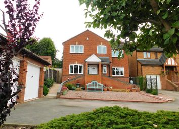 Thumbnail 4 bed detached house for sale in Frew Close, Westbury Park, Stafford