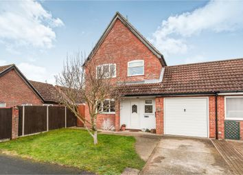 Thumbnail 3 bed link-detached house for sale in Jubilee Road, Watton, Thetford