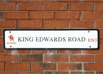 Thumbnail 2 bed end terrace house to rent in King Edwards Road, Enfield