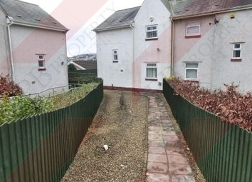 Thumbnail 3 bed end terrace house to rent in Maes Y Fedwen, Cwmrhydyceirw, Swansea
