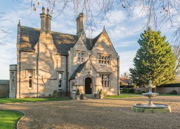 Thumbnail 6 bed equestrian property for sale in Towngate West, Market Deeping, Peterborough