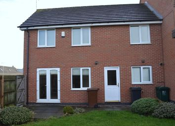 Thumbnail 3 bed semi-detached house to rent in Box Close, Woodville, Swadlincote