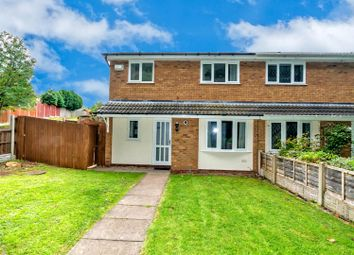 Thumbnail 2 bedroom end terrace house to rent in Acorn Close, Heath Hayes, Cannock