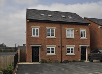 Thumbnail 3 bed semi-detached house for sale in Hawthorn Drive, Glossop