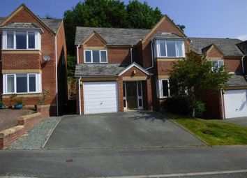 Thumbnail 4 bed detached house to rent in Brynfa Avenue, Welshpool