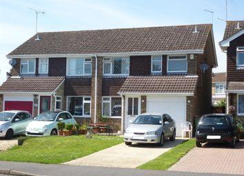Thumbnail 3 bed semi-detached house for sale in Fair Oak Road, Bishopstoke, Eastleigh