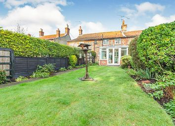 Thumbnail 2 bed terraced house for sale in The Street, Thornage, Holt