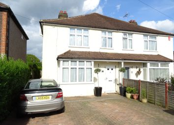 Thumbnail 4 bed semi-detached house for sale in Scotland Bridge Road, New Haw