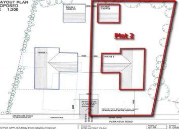 Thumbnail Land for sale in 11, Parkneuk Road, Plot 2, Hamilton, South Lanarkshire G720Tr