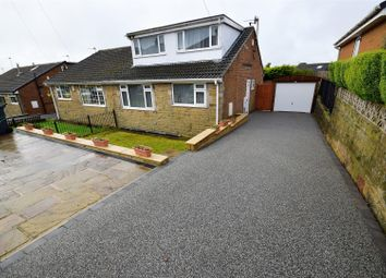 Thumbnail 4 bed semi-detached house for sale in Weston Avenue, Queensbury, Bradford