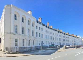 Thumbnail 2 bed flat for sale in The Crescent, The Hoe, Plymouth