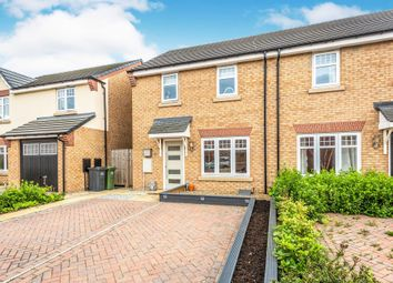 Thumbnail 3 bed semi-detached house for sale in Mill Croft, Eggborough, Goole