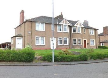 Thumbnail 2 bed flat to rent in Haughview Road, Motherwell