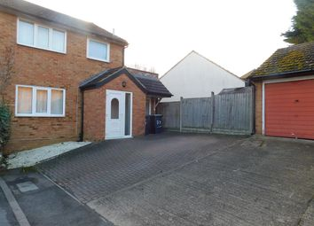 Thumbnail 4 bed semi-detached house to rent in Coniston Road, Flitwick