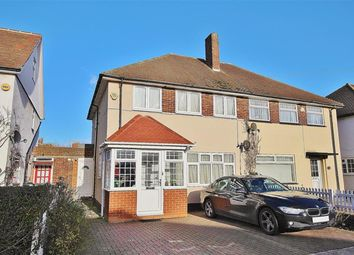 Thumbnail 3 bedroom semi-detached house to rent in Regents Avenue, Hillingdon, Middlesex