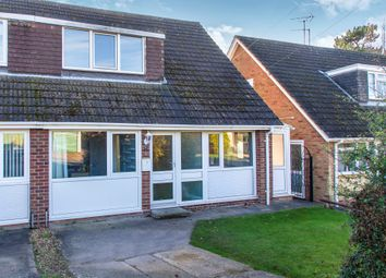 Thumbnail 3 bed semi-detached house for sale in Ramsay Close, Raunds, Wellingborough