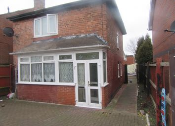 Thumbnail 3 bed detached house for sale in Salisbury Road, Alum Rock