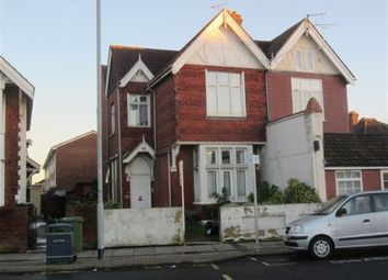 Thumbnail 1 bed flat to rent in Old London Road, Portsmouth