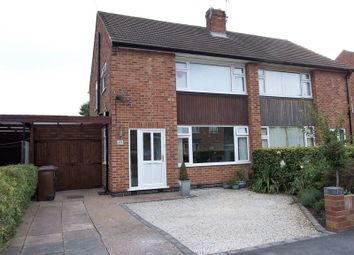Thumbnail 3 bed semi-detached house for sale in Brookside Road, Loughborough