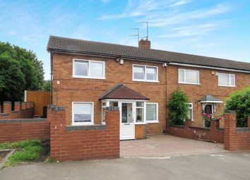 Thumbnail 3 bed end terrace house for sale in Selkirk Close, West Bromwich