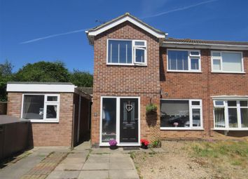 Thumbnail 5 bed semi-detached house for sale in Conway Close, Loughborough