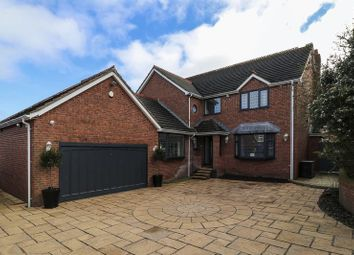 Thumbnail 4 bed detached house for sale in Elizabeth Close, Staining, Blackpool