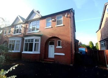 Thumbnail 4 bed semi-detached house for sale in Wilmslow Road, Cheadle, Cheshire, .