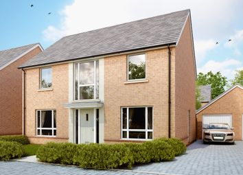"Thumbnail 4 bed detached house for sale in ""The Bradenstoke V1"" at Amesbury Road, Longhedge, Salisbury"