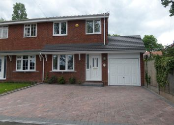 Thumbnail 3 bed semi-detached house to rent in Shugborough Road, Rugeley