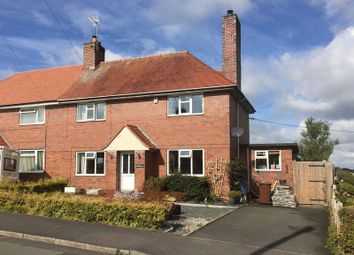 Thumbnail 3 bed semi-detached house for sale in The Crescent, Eccleshall, Staffordshire