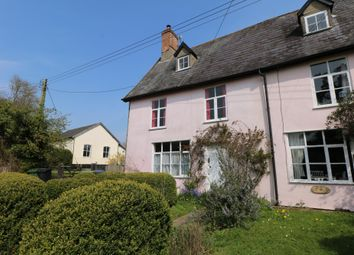 Thumbnail 2 bed semi-detached house to rent in Lower Street, Gissing, Diss