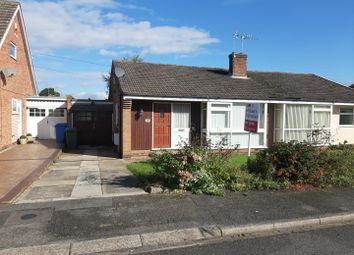 Thumbnail 2 bedroom semi-detached bungalow for sale in Arundel Drive, Carlton-In-Lindrick, Worksop
