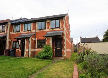 Thumbnail 2 bedroom end terrace house for sale in Centurion Close, Reading
