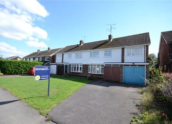 Thumbnail 4 bedroom semi-detached house for sale in Cornfield Road, Woodley, Reading
