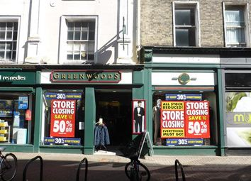 Thumbnail Retail premises for sale in 44 Broad Street, King's Lynn