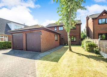 Thumbnail 4 bed detached house for sale in Main Street, Auckley, Doncaster