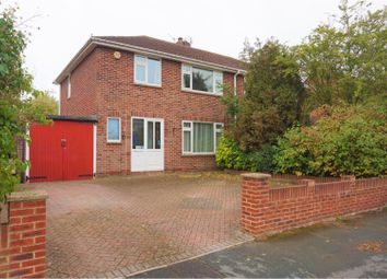 Thumbnail 3 bed semi-detached house for sale in Brecon Close, Swindon
