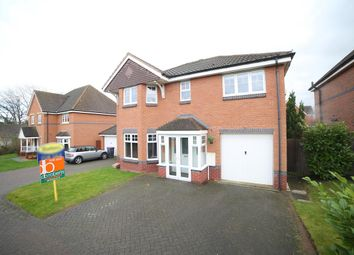 Thumbnail 4 bed detached house for sale in Eider Drive, Apley, Telford