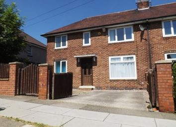 Thumbnail 3 bed semi-detached house to rent in Knutton Road, Sheffield