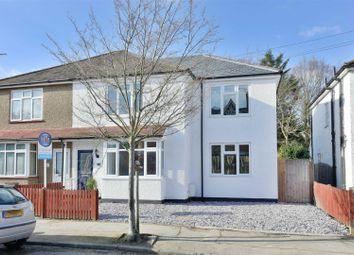 Thumbnail 4 bed semi-detached house for sale in Felcott Road, Hersham, Walton-On-Thames