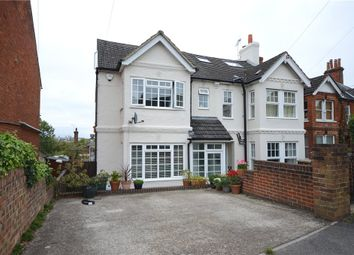 Thumbnail 4 bed semi-detached house for sale in Church Lane East, Aldershot, Hampshire