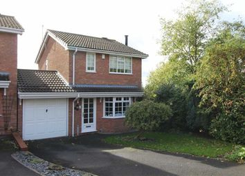Thumbnail 3 bed detached house for sale in Wexford Close, Milking Bank, Dudley