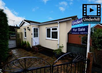 Thumbnail 1 bed mobile/park home for sale in Drake Avenue, Ringwells Park, Exeter