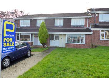 Thumbnail 3 bedroom terraced house for sale in Henley Avenue, Pelton Fell, Chester Le Street