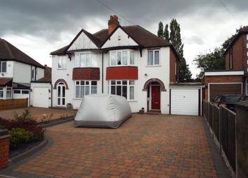 Thumbnail 3 bed semi-detached house for sale in Warren Hill Road, Kingstanding, Birmingham, West Midlands