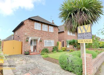 Thumbnail 3 bed detached house for sale in Marlborough Road, Goring By Sea, West Sussex